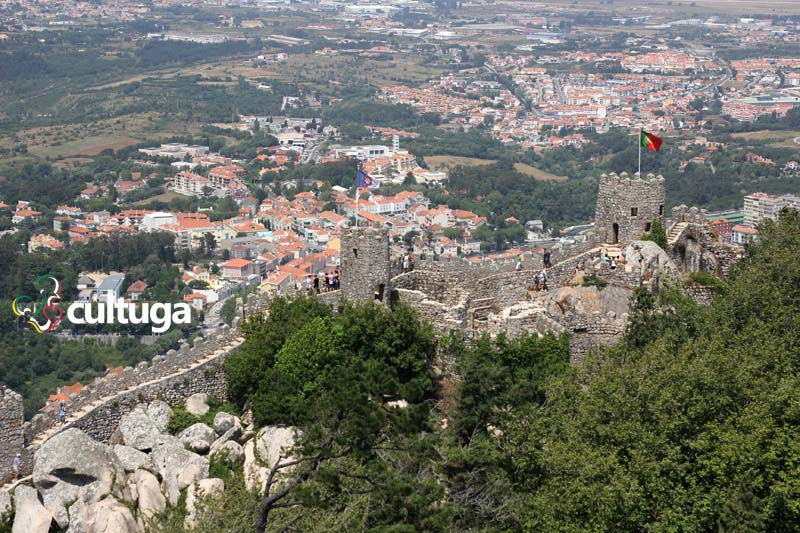 Castelos em Portugal: Castelo dos Mouros - Sintra