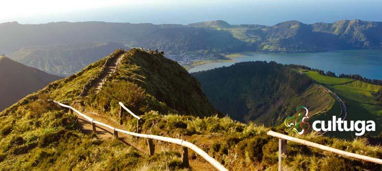 Ilha de São Miguel nos Açores