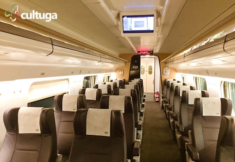 Como ir de Lisboa ao Porto: trem
