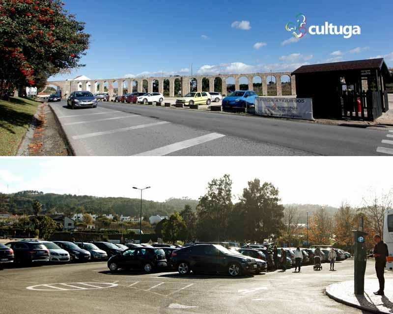 O que fazer em Óbidos: estacionamento