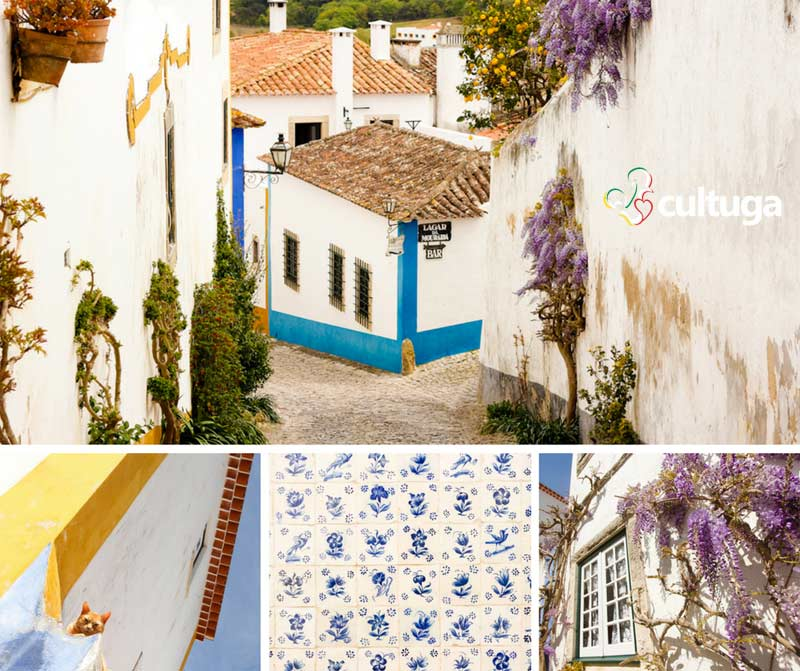 Óbidos: roteiro de charme em Portugal