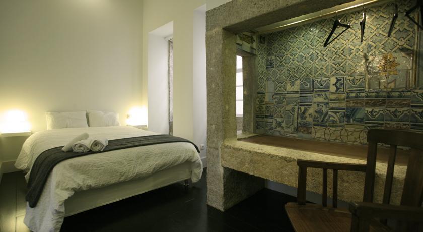 Um dos quartos do Travellers House (Rua Augusta, 89)