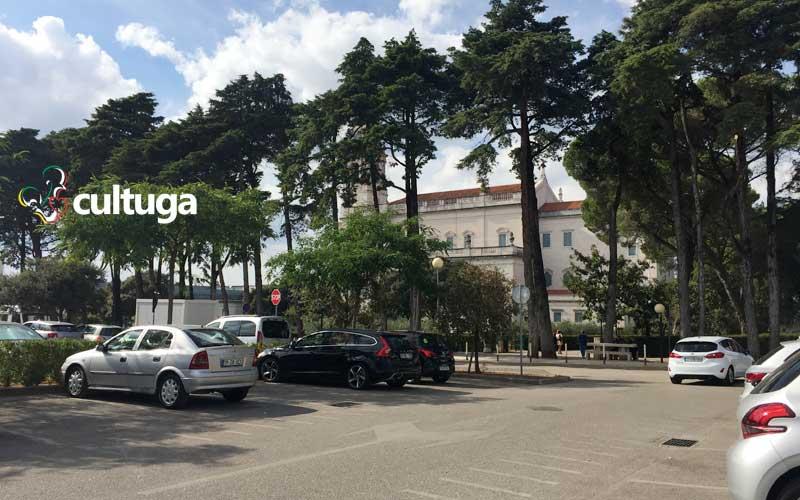 Estacionamento do Santuário de Fátima Portugal
