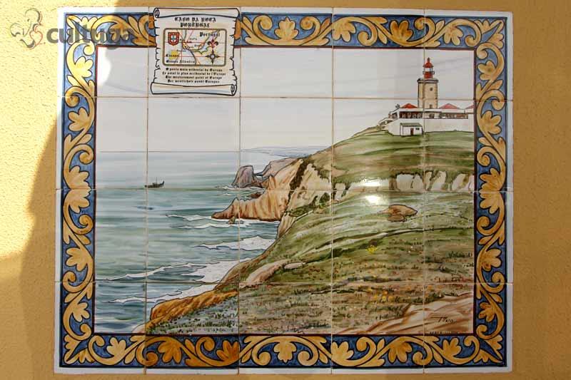 Azulejos no Cabo da Roca - Portugal
