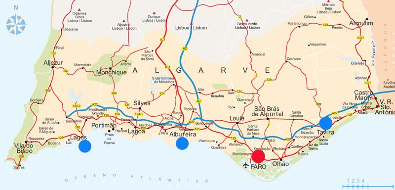 ver mapa algarve Algarve Sem Carro] O que fazer em Faro?   Cultuga ver mapa algarve