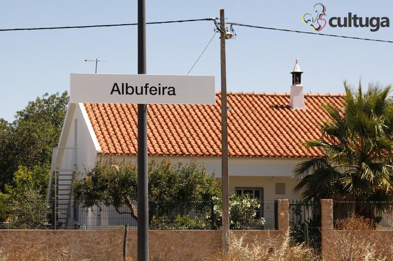 roteiro Albufeira Algarve: estação de trem