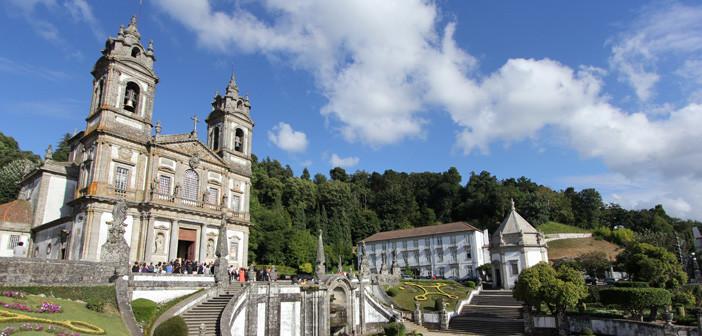 Santuário Bom Jesus do Monte, em Braga
