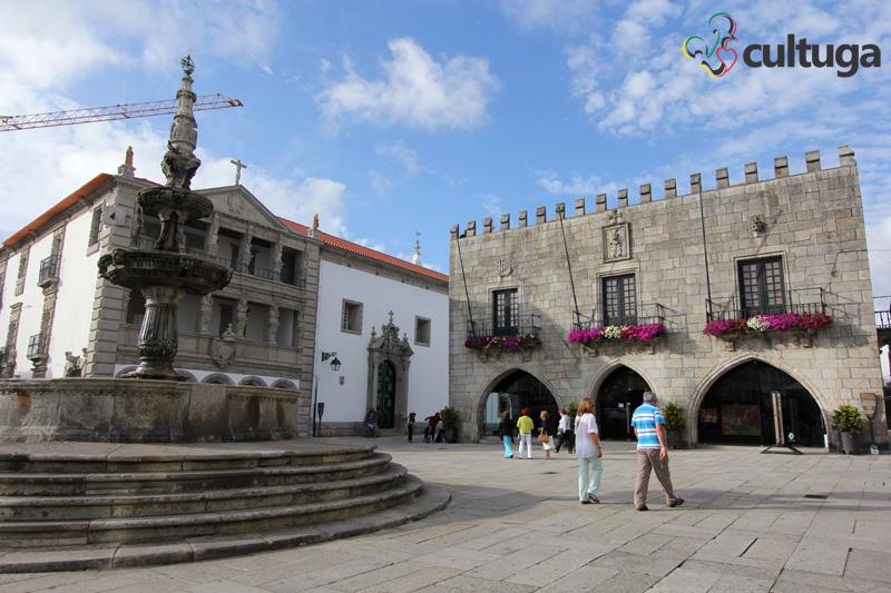 Centro histórico de Viana do Castelo. Foto: Priscila Roque/ Cultuga