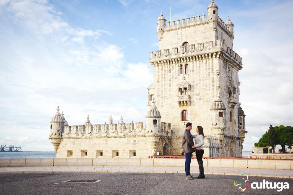 Ensaio fotográfico de casal em Lisboa