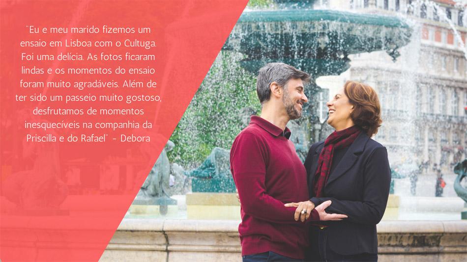 Cliente ensaio fotográfico em Lisboa do Cultuga