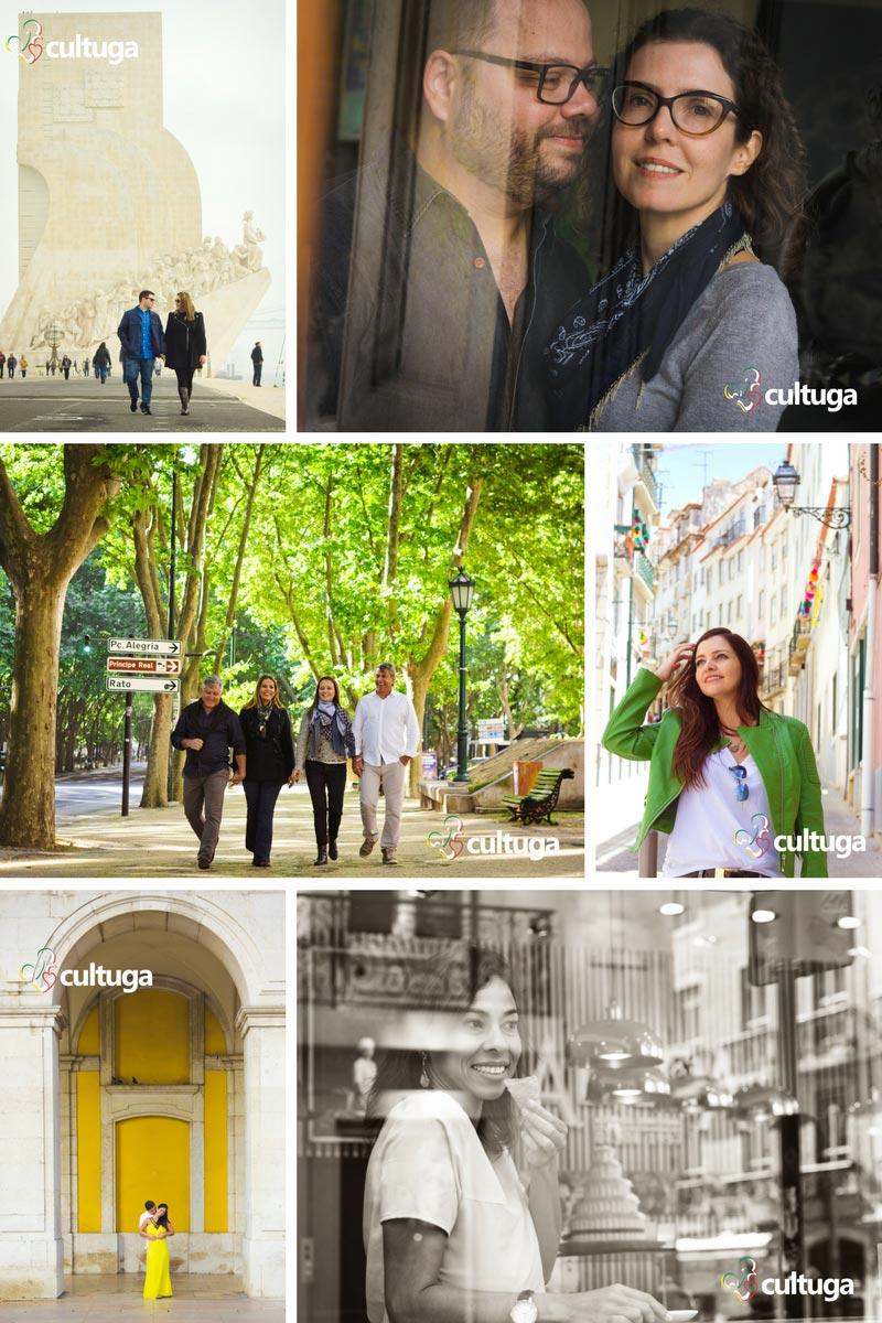 Ensaios fotográficos em Lisboa do Cultuga
