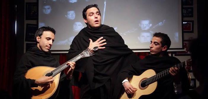 Trio português do Fado ao Centro se apresenta no Brasil
