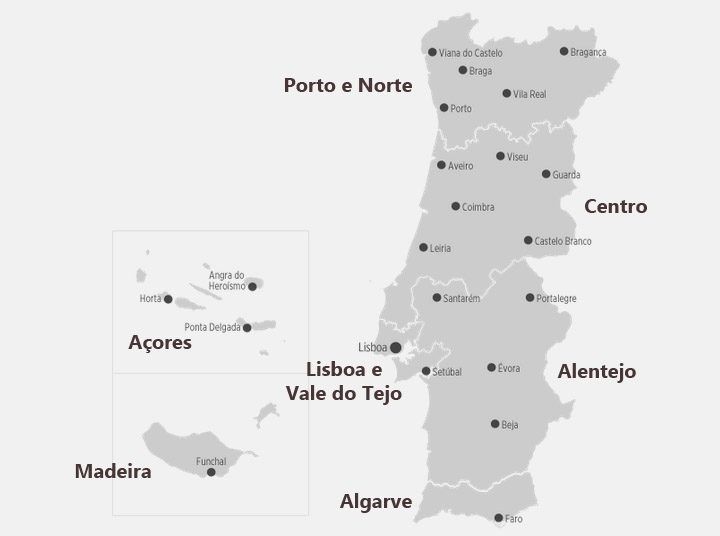 mapa portugal e ilhas Where in Portugal have you been to ? (user search) mapa portugal e ilhas