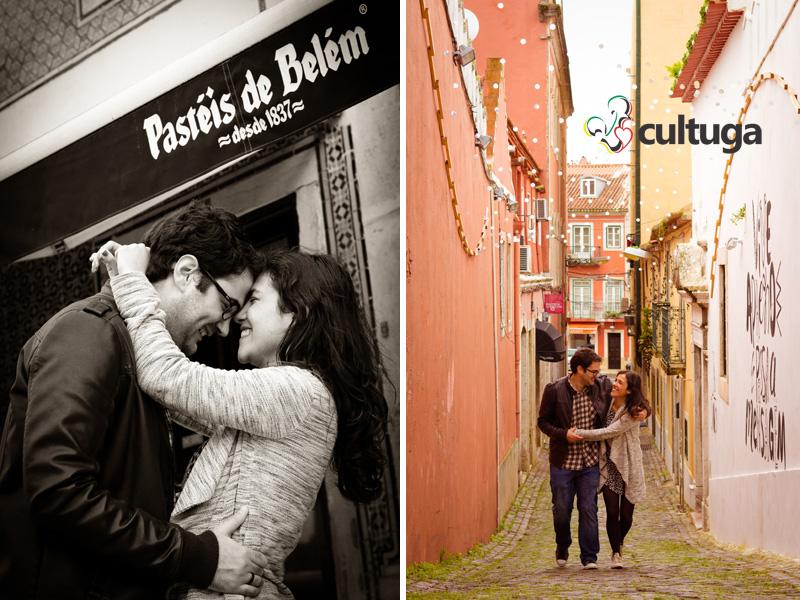 Sessão fotográfica de casal em Belém