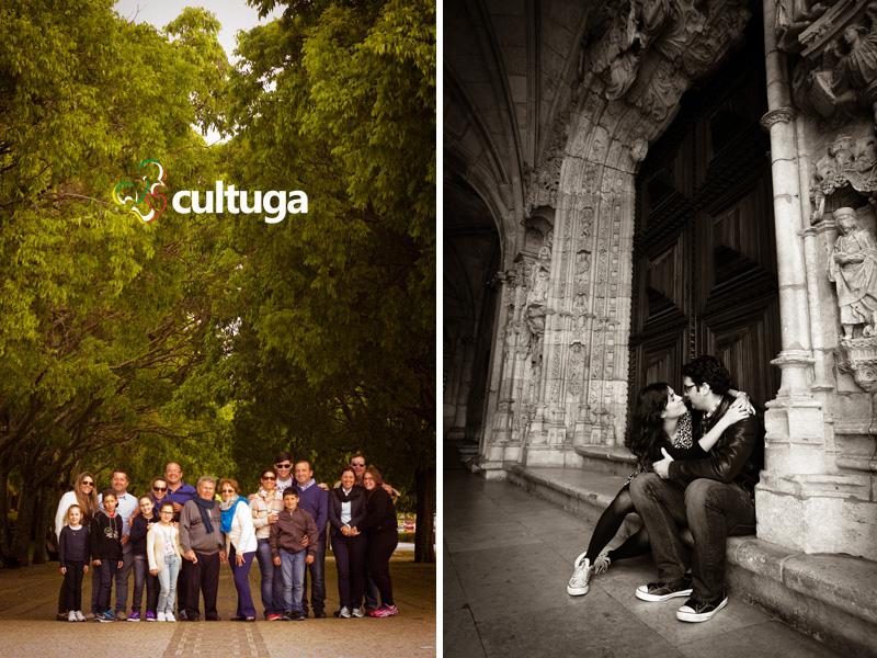 O bem cuidado Parque Eduardo VII e o Mosteiro dos Jerónimos como cenários das nossas sessões fotográficas