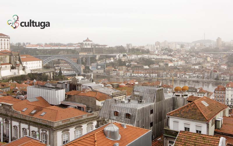 Porto e Vila Nova de Gaia no inverno. Foto: Priscila Roque/ Cultuga