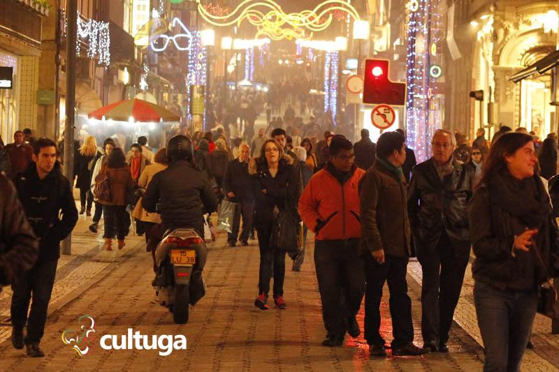 Início do mês de janeiro no Porto