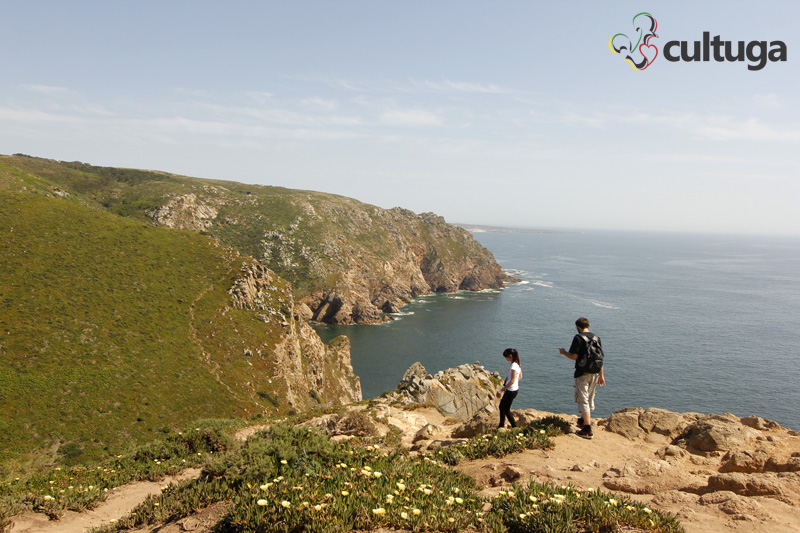 Primavera em Portugal: Cabo da Roca durante o mês de maio