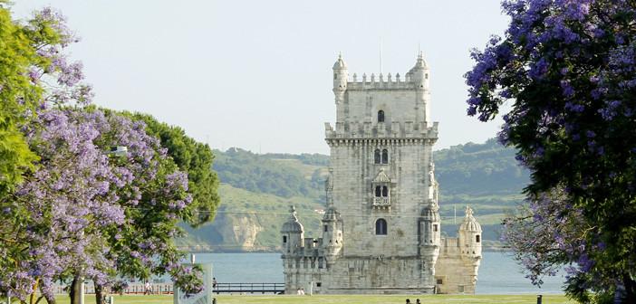Primavera em Portugal: jacarandás em Lisboa