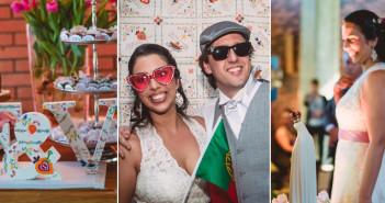 Casamento temático decoração de Portugal