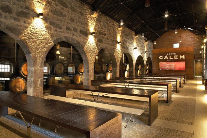 Caves de vinho do Porto Portugal: Calem