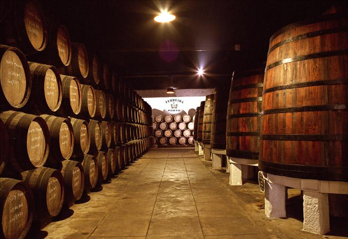 Caves de vinho do Porto Portugal: FERREIRA