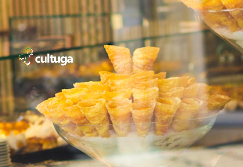 doces portugueses cornucópias cultuga