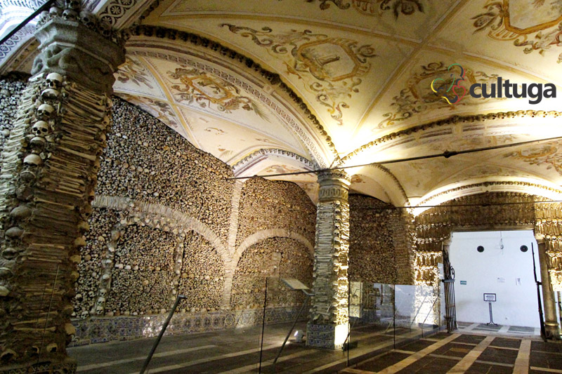 Capela dos Ossos de Évora Portugal