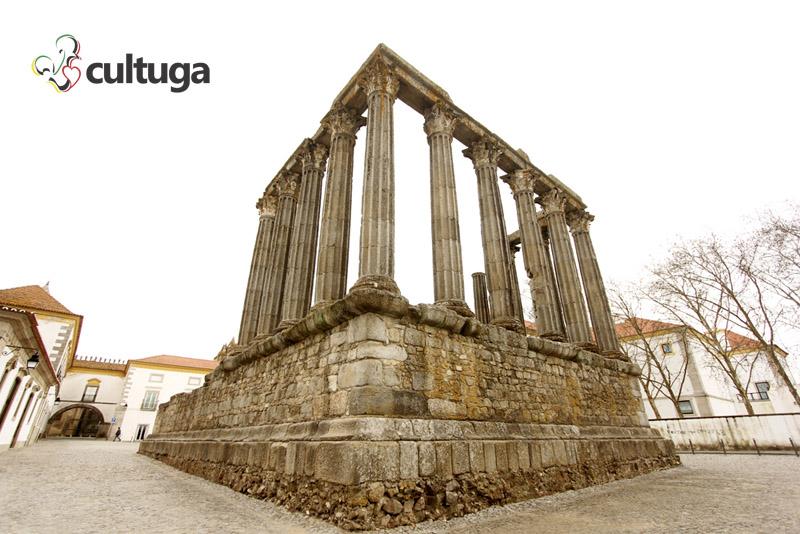 Templo Romano de Évora. Foto: Priscila Roque/ Cultuga