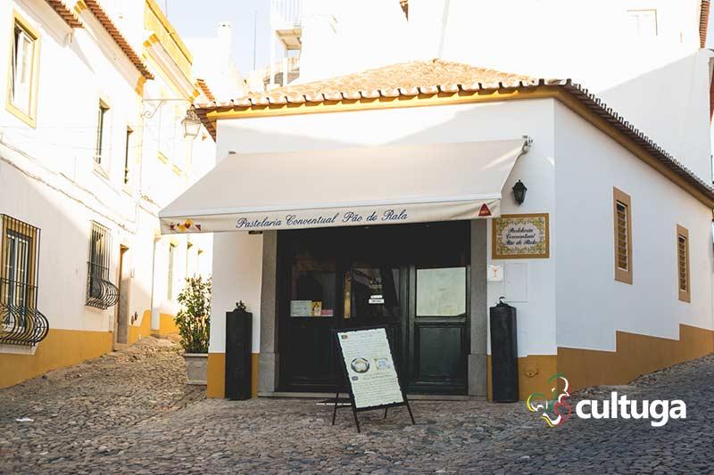 Pastelaria Pão de Rala em Évora