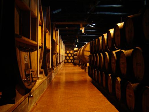 Caves de vinho do Porto Portugal: rozes