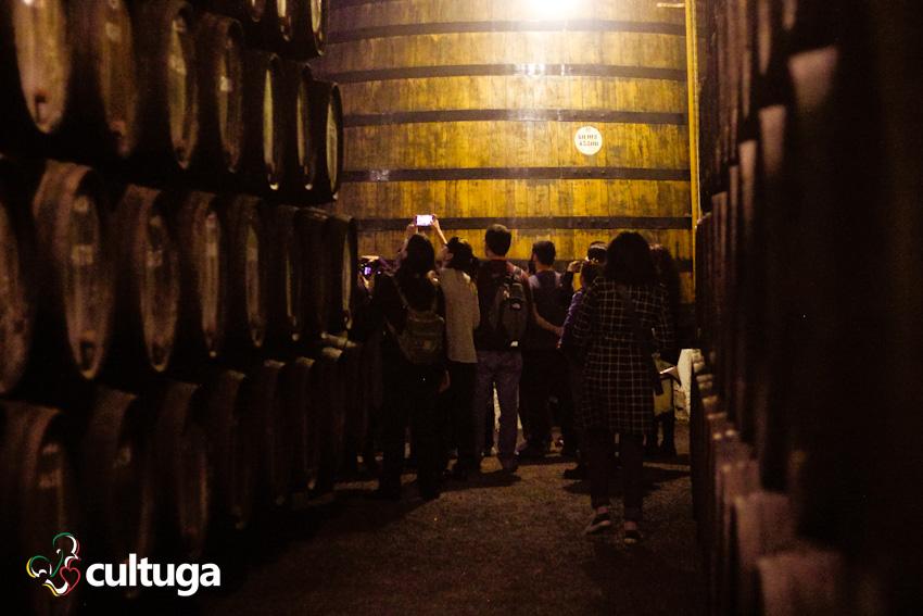 Caves de vinho do Porto Portugal: Taylors