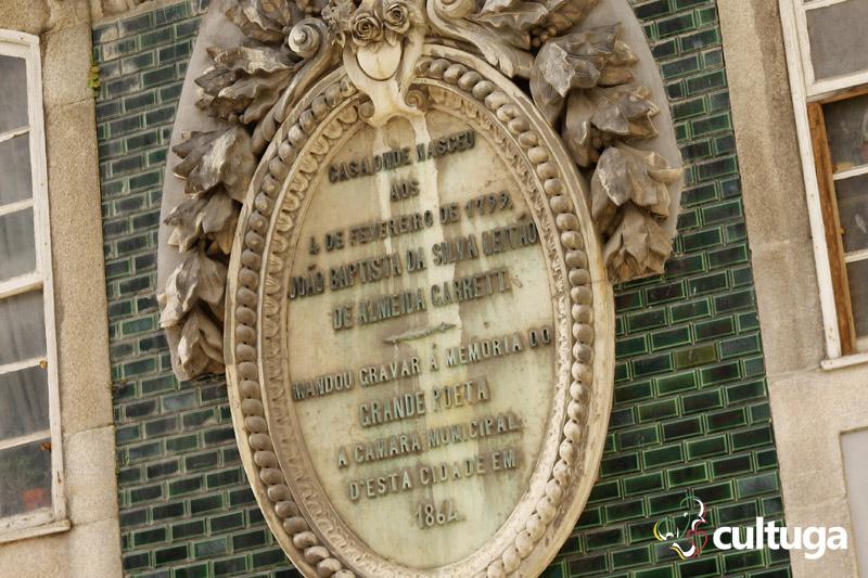 Casa em que nasceu Almeida Garrett no Porto