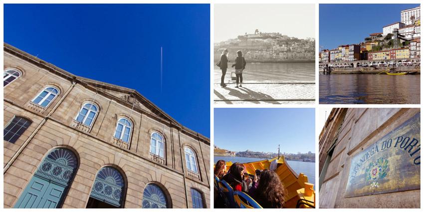Visita ao edifício histórico da Alfândega e um passeio relaxante de barco pelo Douro
