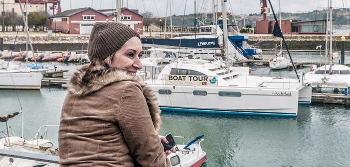 Izabel mostra todo o seu afeto por Lisboa