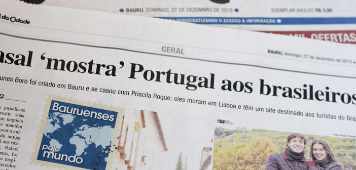 Estrevista com o Cultuga para o Jornal da Cidade de Bauru