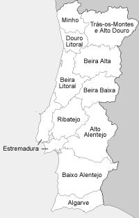 Provincias de Portugal