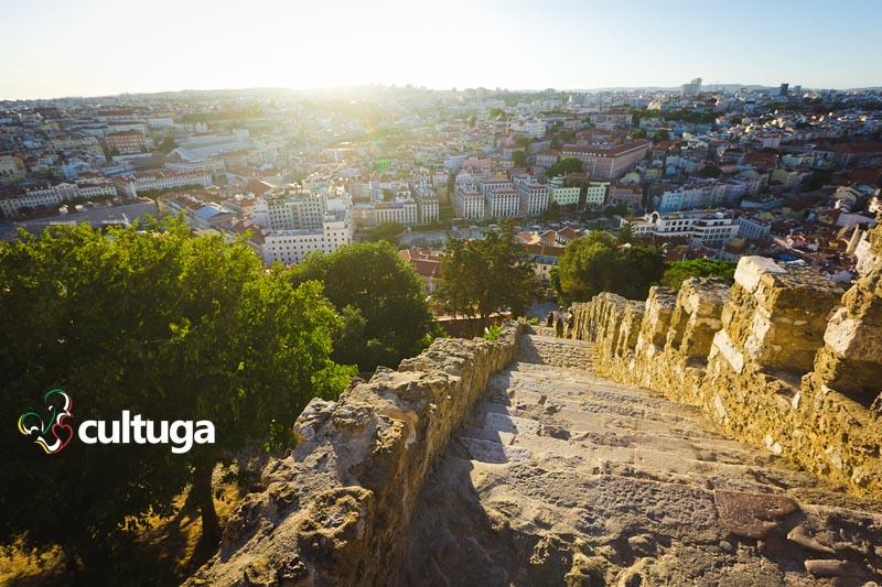 Castelos em Portugal: Castelo de São Jorge - Lisboa