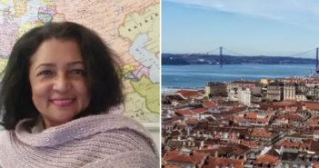 A escritora brasileira Rijarda Giandini vive e ama Lisboa
