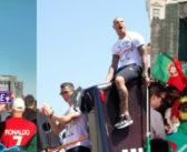 Eurocopa 2016: comemoração do título de Portugal em Lisboa
