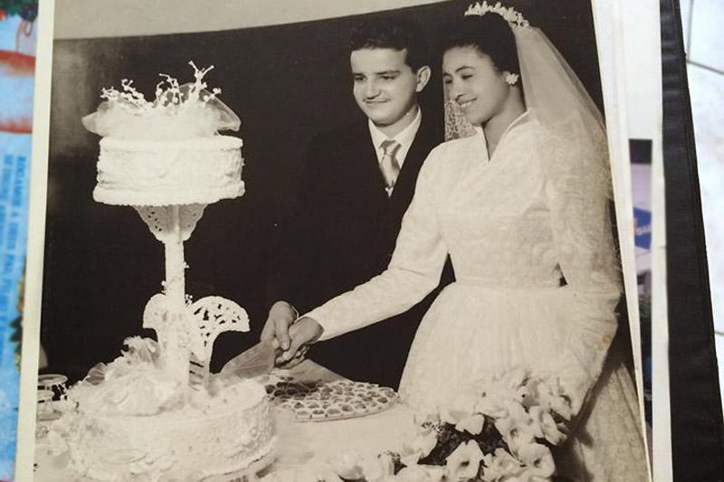 Casamento do avô do Rodrigo (foto: arquivo pessoal)