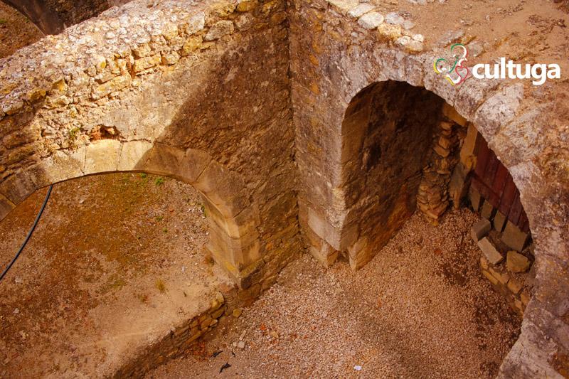 Ruínas do Castelo Templário de Tomar