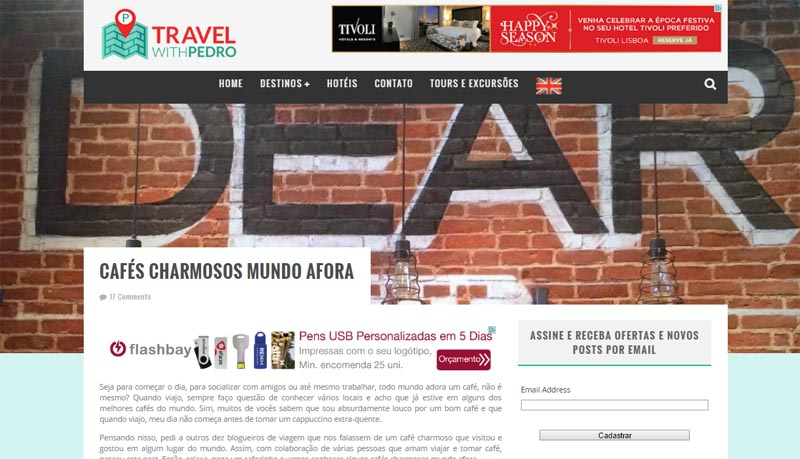 Veja o texto completo no blog Travel With Pedro
