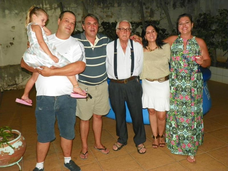 A família reunida