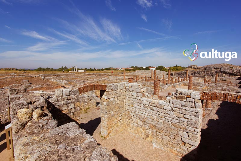 Ruínas Romanas de Conímbriga - Portugal