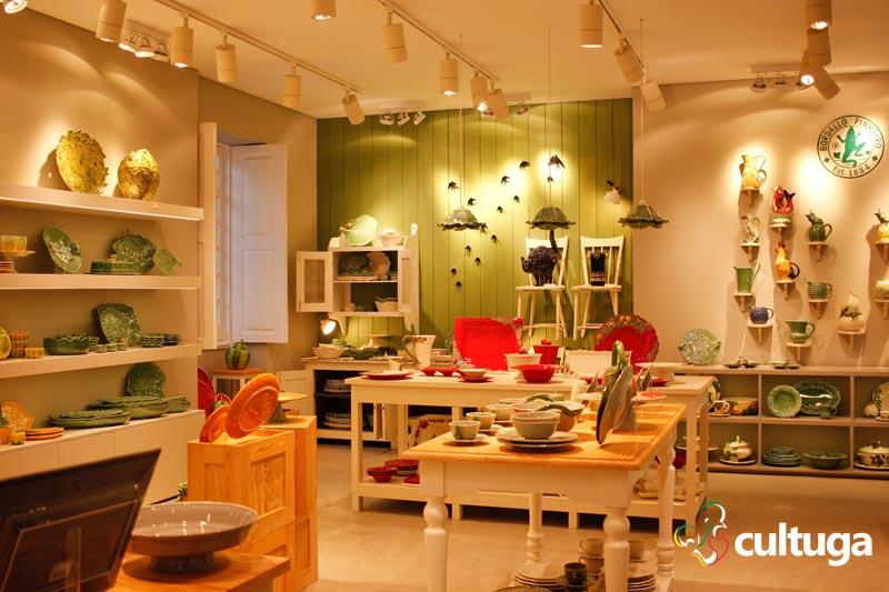 Posso morar dentro da loja do Bordallo Pinheiro, no complexo da Vista Alegre?