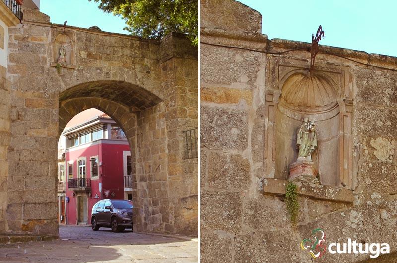 Arco dos Melos, em Viseu - Portugal