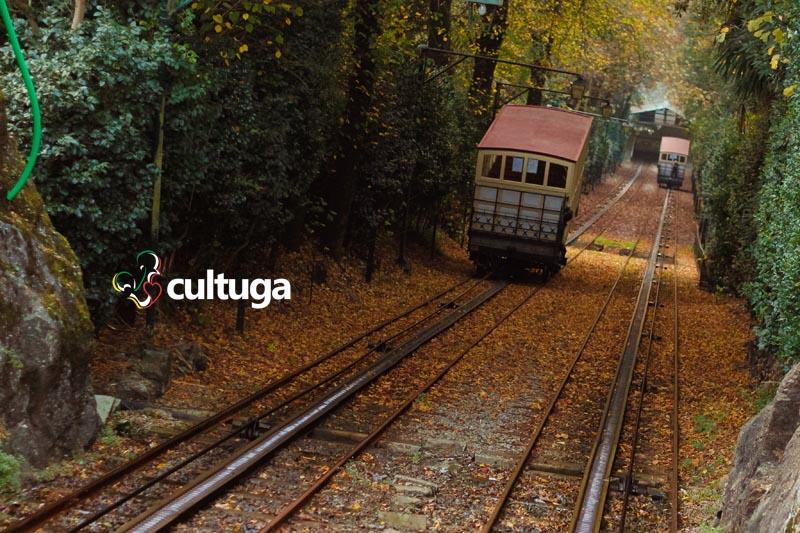Funicular do Santuário do Bom Jesus do Monte, em Braga - Portugal