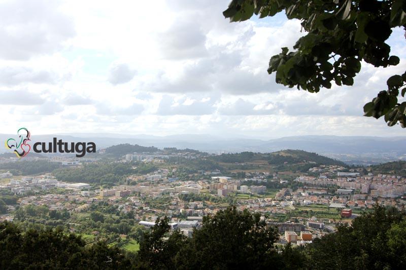 Miradouro do Santuário do Bom Jesus do Monte, em Braga - Portugal
