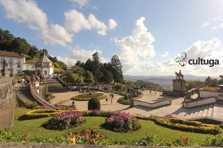 Santuário do Bom Jesus do Monte, em Braga - Portugal